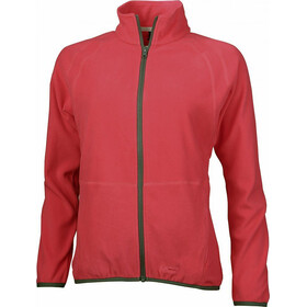 High Colorado Kufstein Fleecejacke Damen coral